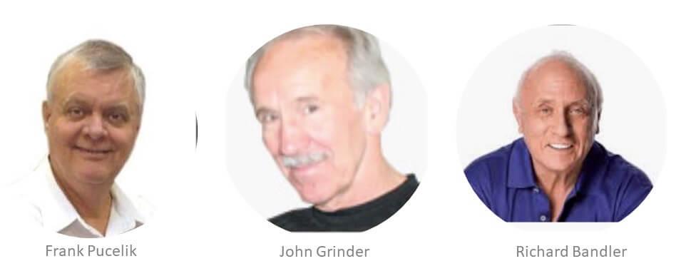 Pucelik, Grinder y Bandler_creadores PNL